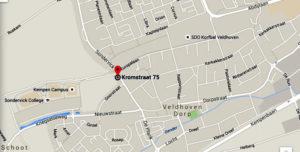 route naar FietsgarageVeldhoven